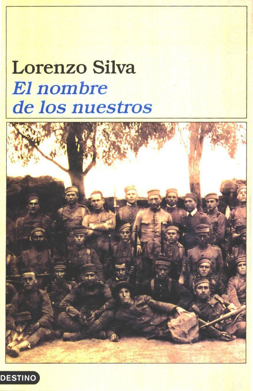 Portada de la novela El nombre de los nuestros, de Lorenzo Silva