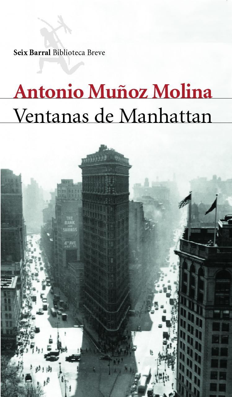 Portada de Ventanas de Manhattan, de Antonio Muñoz Molina