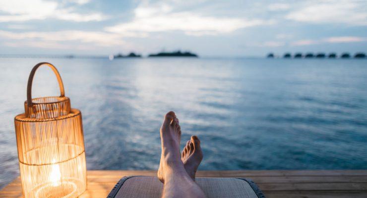 Relax al borde del mar