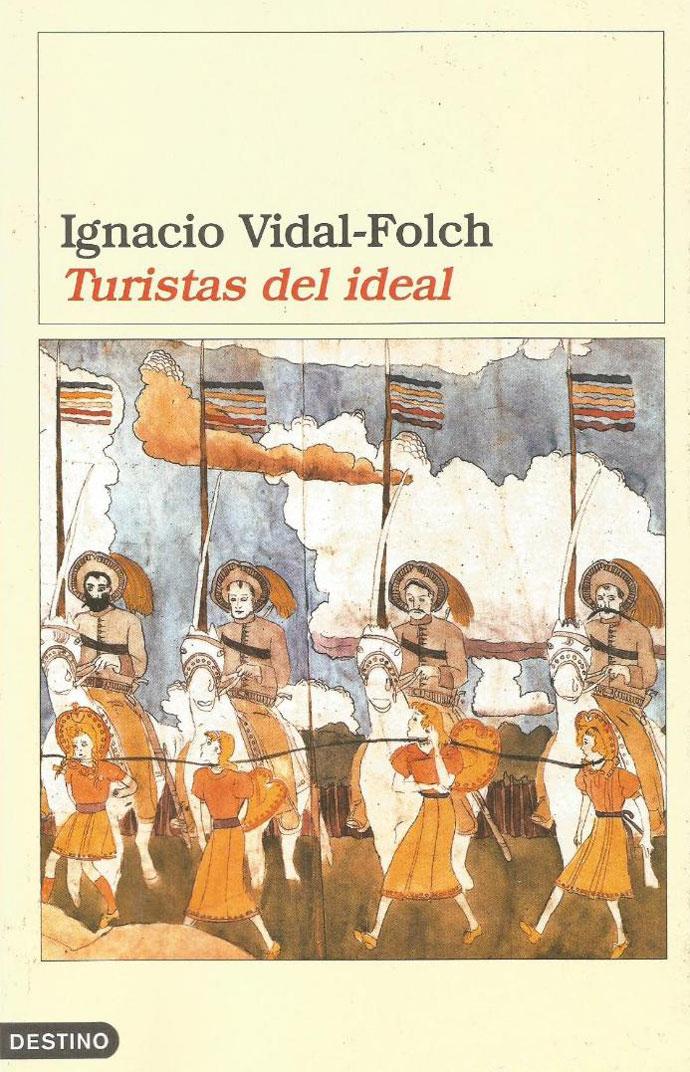 Portada de la novela Turistas del ideal, de Ignacio Vidal-Folch