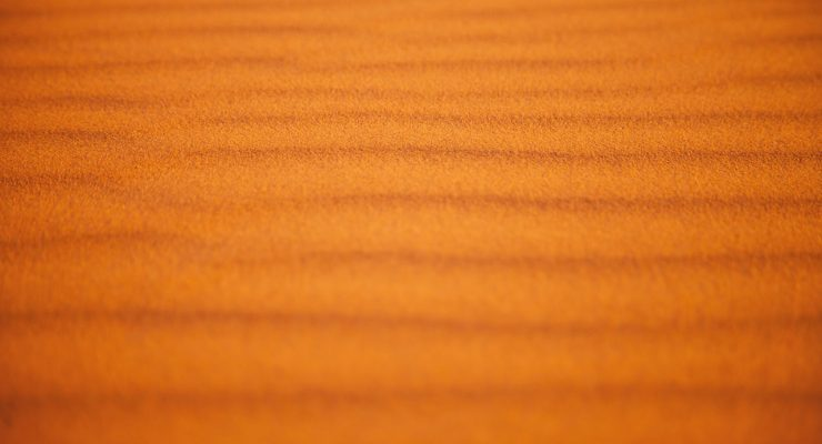 Arena del desierto del Sahara