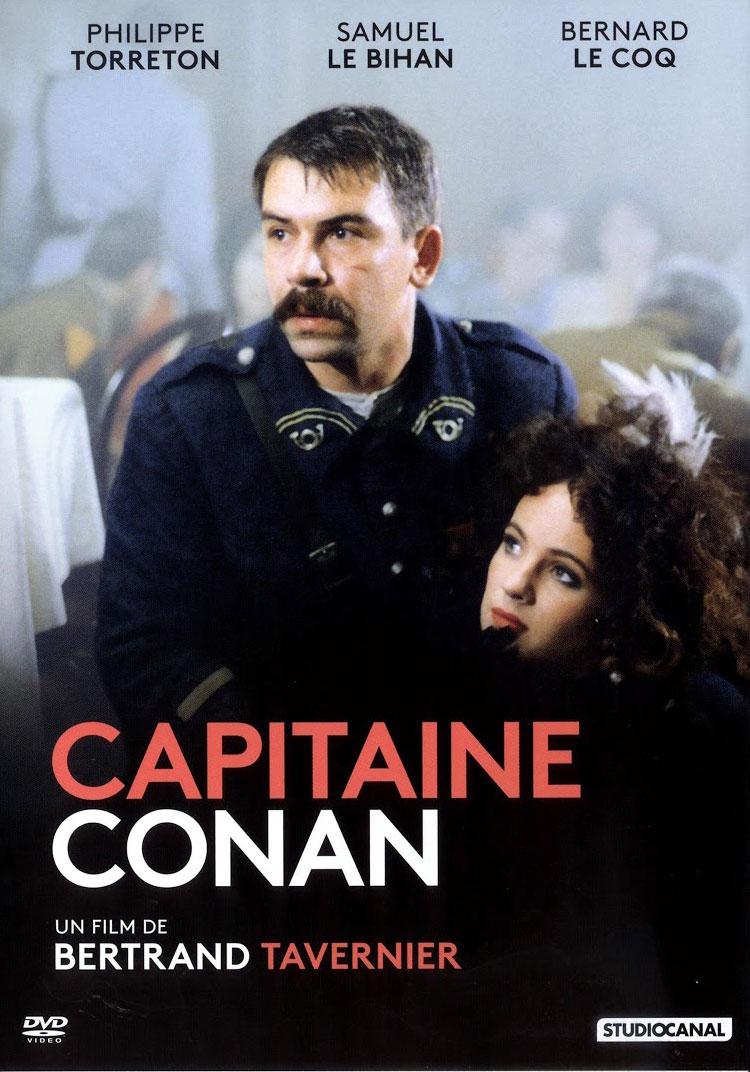 Carátula de la edición en DVD de la película Capitaine Conan, de Bernard Tavernier