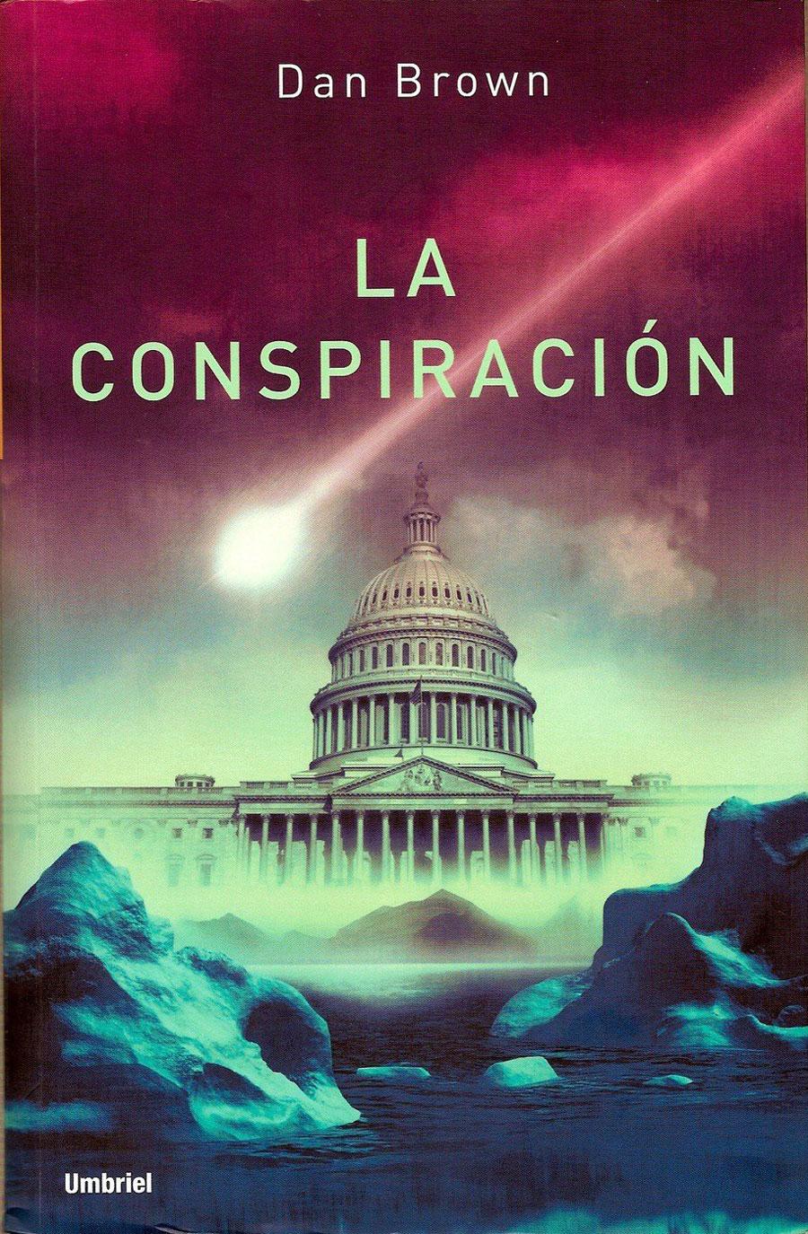 Portada de La conspiración, de Dan Brown