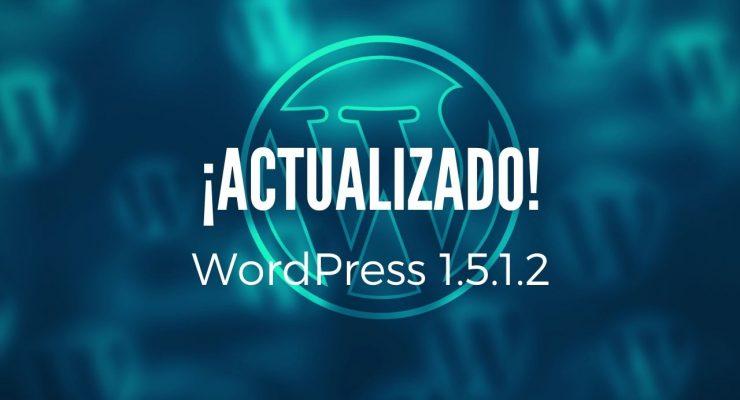 Actualización a WordPress1.5.1.2