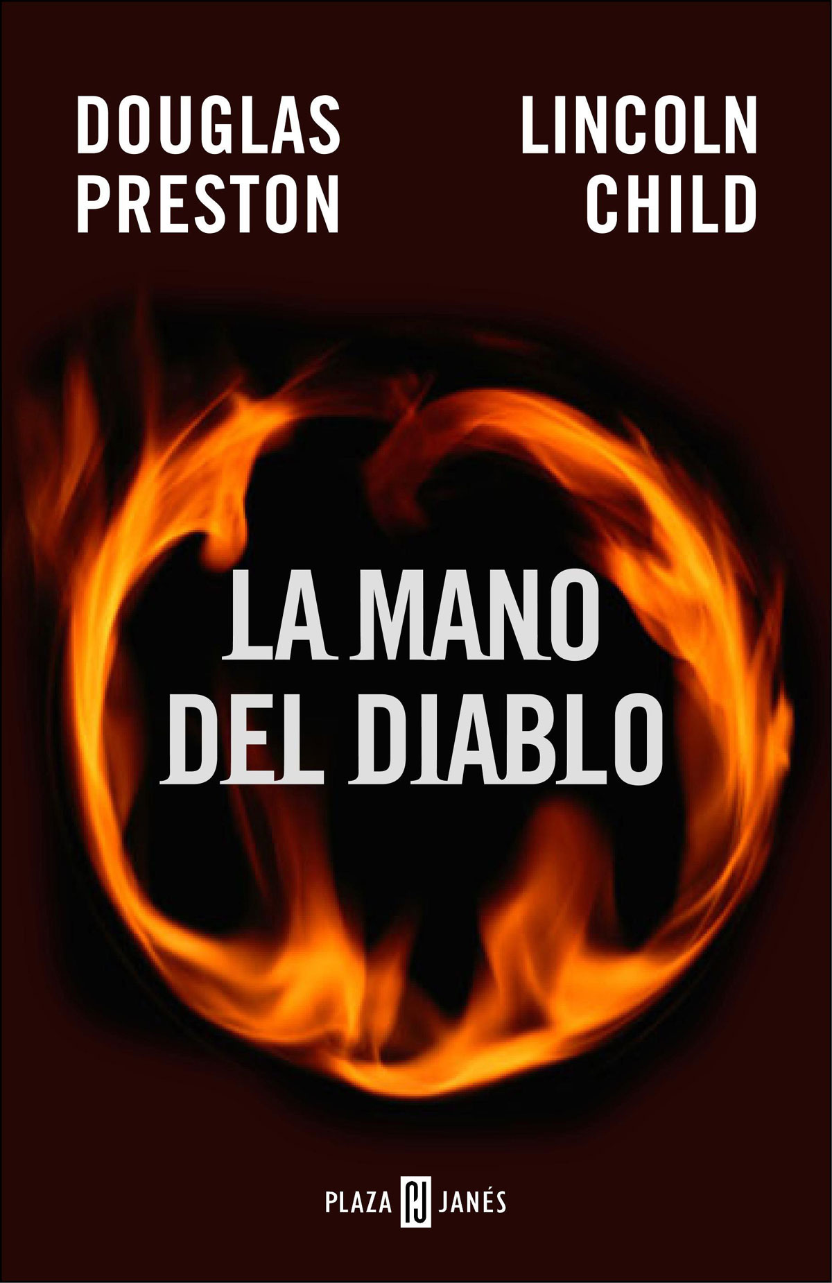 Portada de la novela La mano del diablo, de Douglas Preston y Lincoln Child
