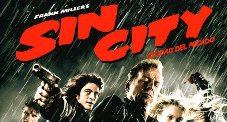Cartel de la película Sin City, de Robert Rodriguez