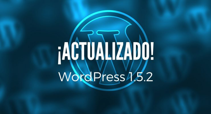 Actualización a WordPress 1.5.2