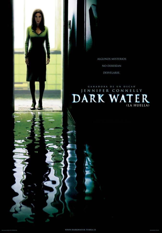 Cartel de la película La huella (Dark water)