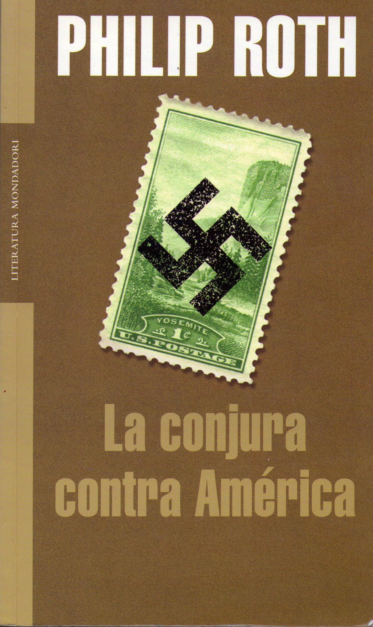 Portada de la novela La conjura contra América, de Philip Roth