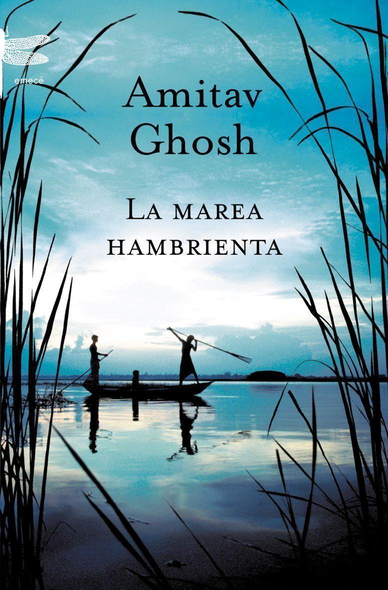 Portada de la novela La marea hambrienta, del novelista hindú Amitav Ghosh