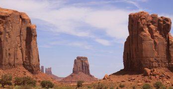 The North Window, en Monument Valley, Utah, escenario de los westerns de John Ford