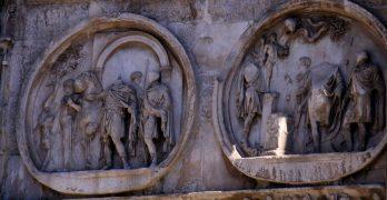 Arco de Constantino, en Roma