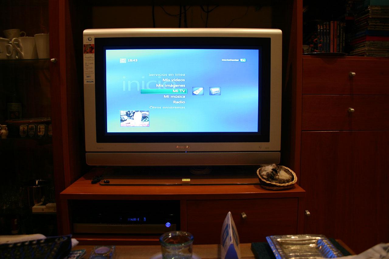 Windows Media Center en mi Scaleo E