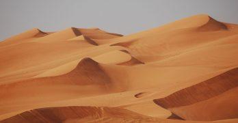 Dunas en el desierto, Dubai