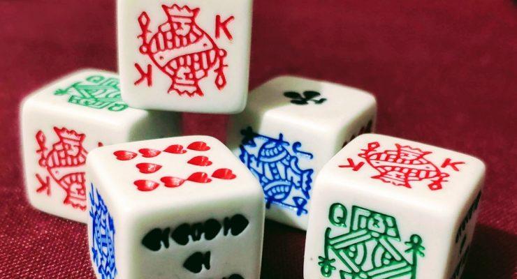Dados de póker