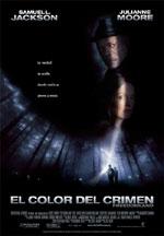 Cartel de la película El color del crimen