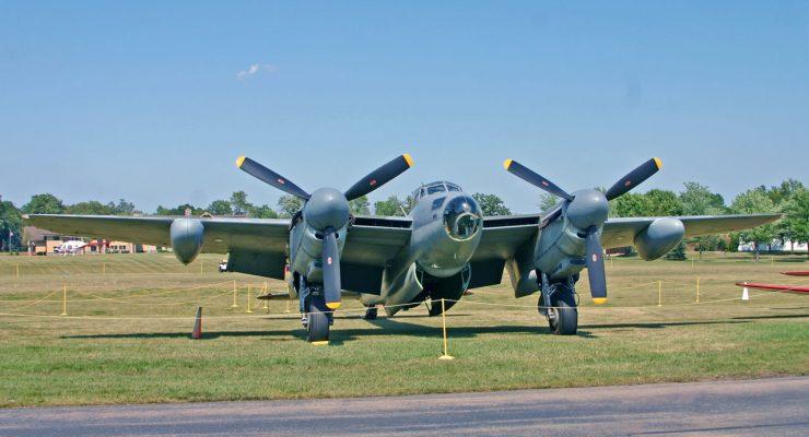 Bombardero De Havilland Mosquito