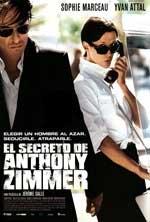 Cartel de la película El secreto de Anthony Zimmer