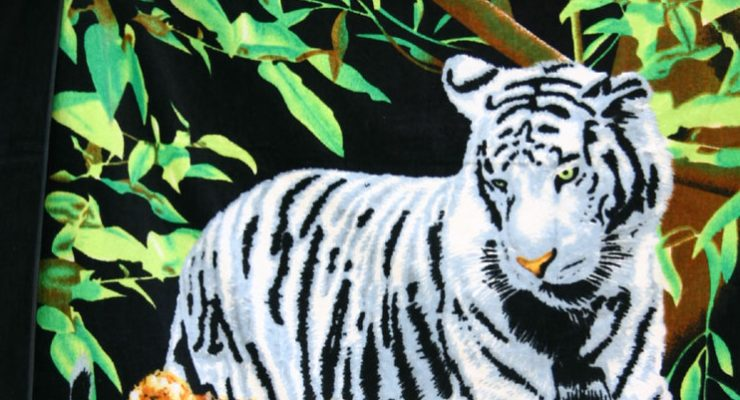 Tigres de felpa