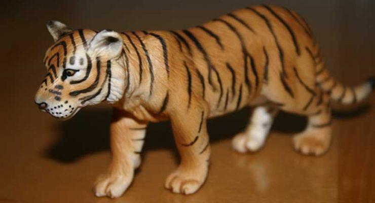 Figurita de tigre 1