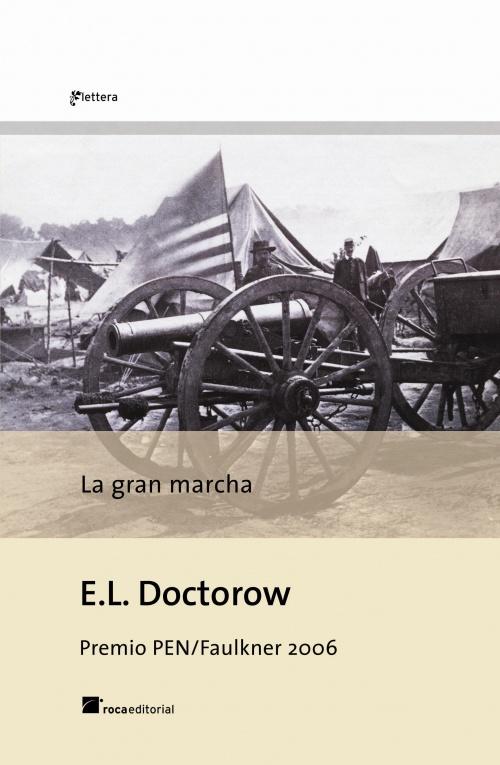 Portada de la novela La gran marcha, de E.L. Doctorow