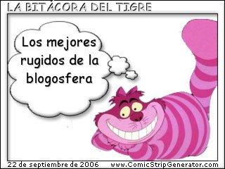 La Bitácora del Tigre. Los mejores rugidos de la blogosfera
