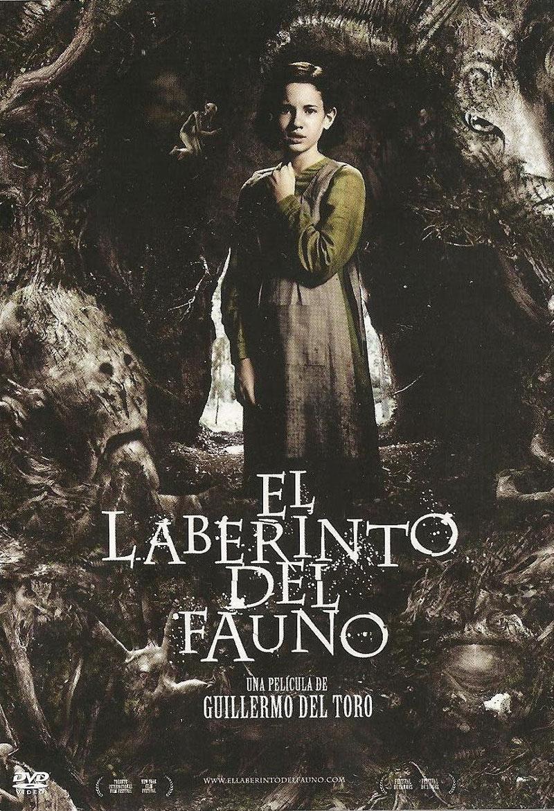 Cartel de la película El laberinto del fauno, de Guillermo del Toro