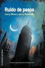 Portada de la novela Ruido de pasos, de Larry Niven y Jerry Pournelle