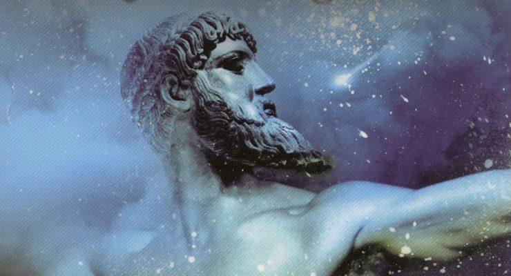Portada de la novela Señores del Olimpo, de Javier Negrete