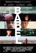 Cartel de la película Babel, de Alejandro González Iñárritu