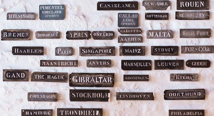 Etiquetas de lugares