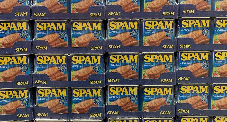 Latas de spam