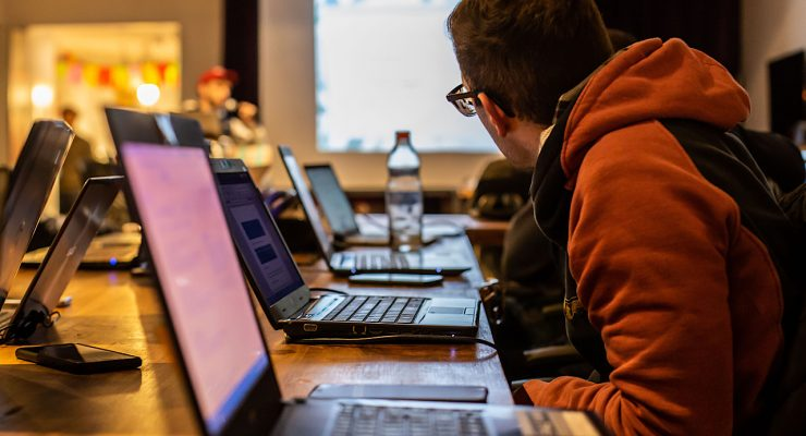 Curso con ordenadores portátiles