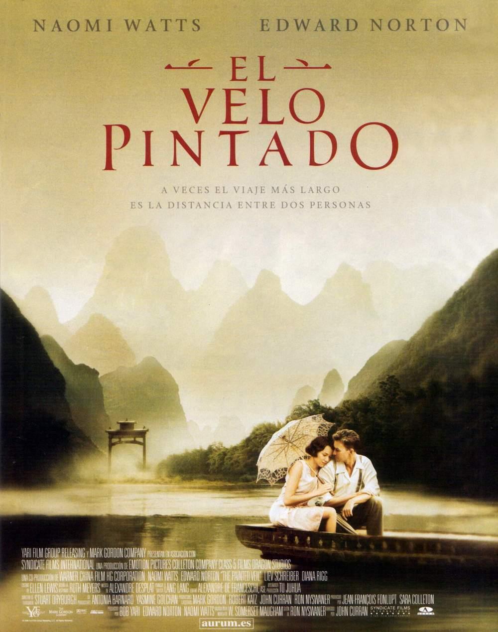 Cartel de la película El velo pintado