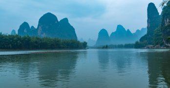 Paisaje de Guangxi, China