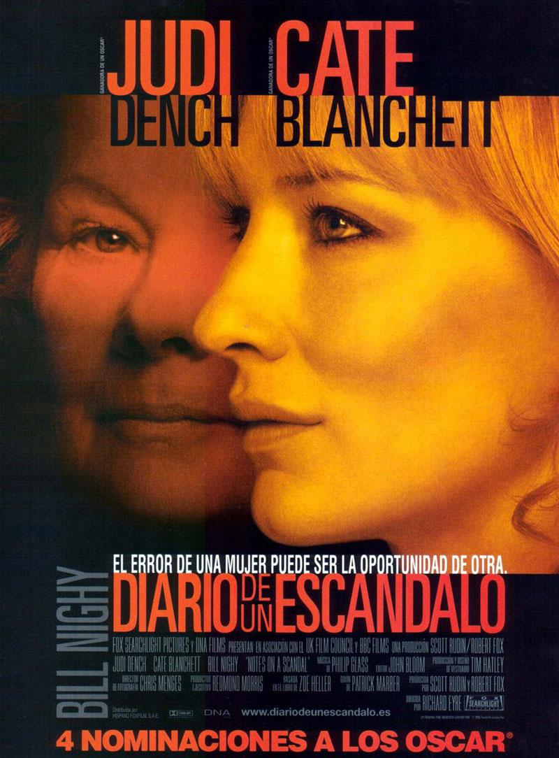 Cartel de la película Diario de un escándalo