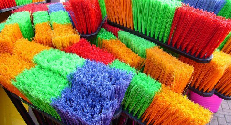 Escobones de colores
