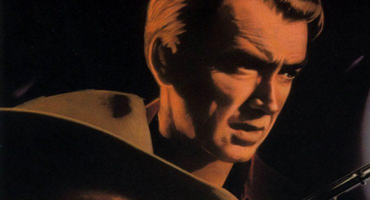 Cartel de la película El hombre que mató a Liberty Valance, de John Ford