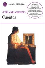 Portada del libro Cuentos, de José María Merino