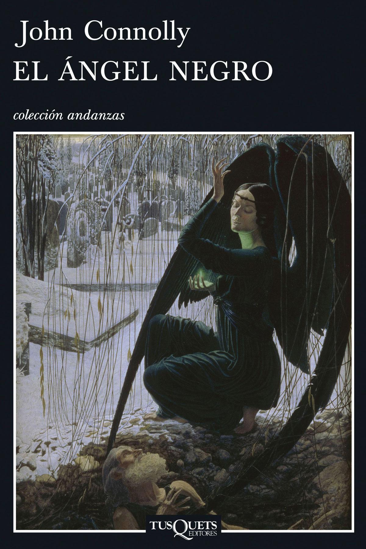 Portada de la novela El ángel negro, de John Connolly