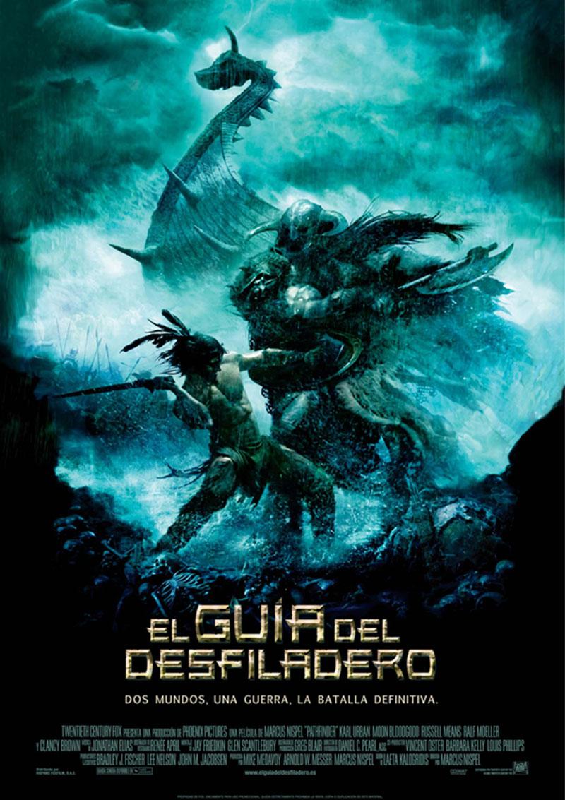 Cartel de la película El guía del desfiladero