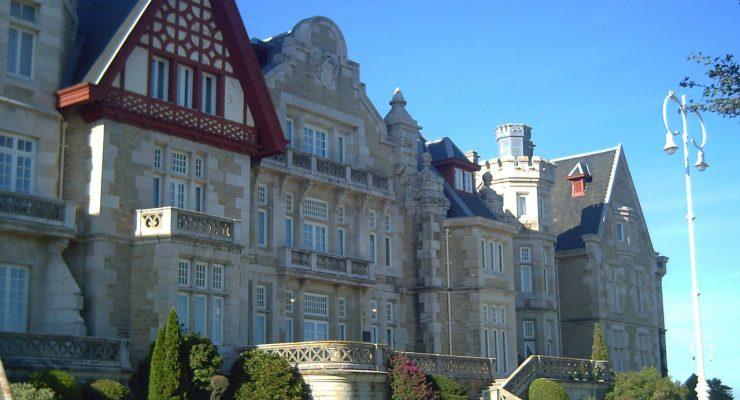 Palacio de la Magdalena, sede de la Universidad Internacional Menéndez Pelayo