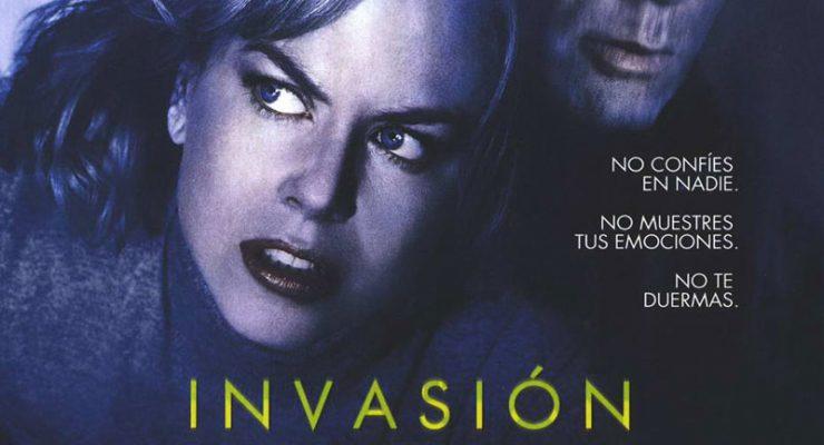 Cartel de la película Invasión, de Oliver Hirschbiegel