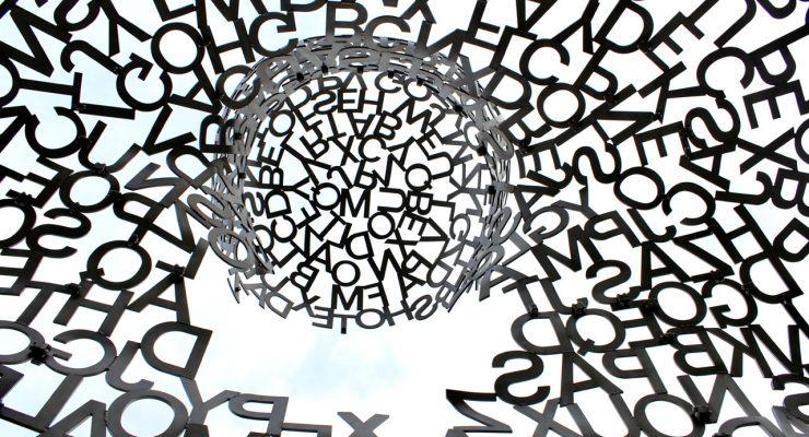 Letras en círculo