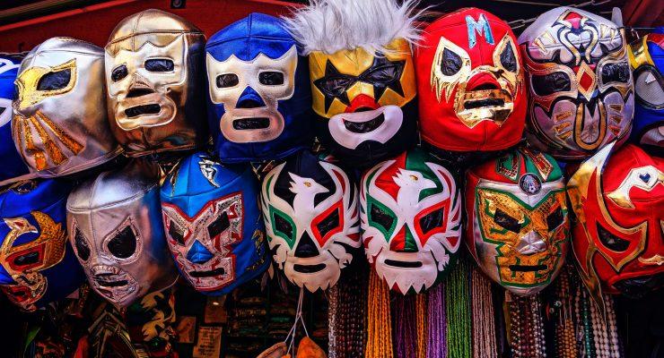 Máscaras de luchadores