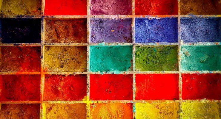 Temperas de colores