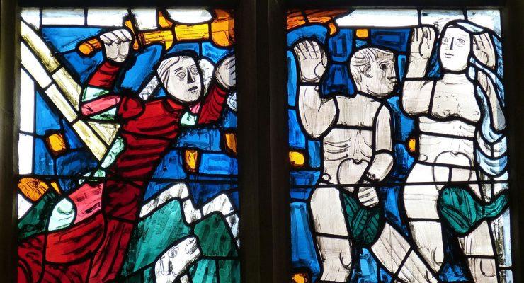 La expulsión de Adán y Eva del Paraíso