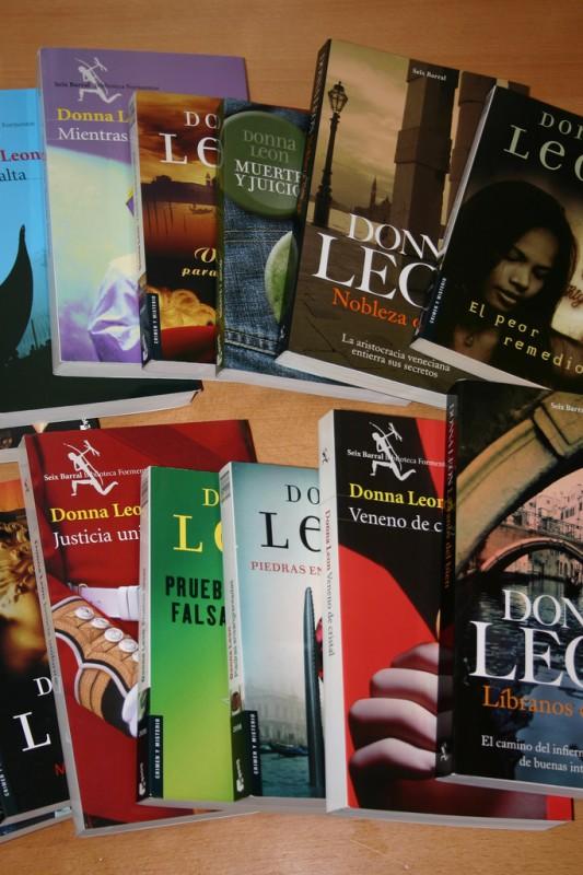 Novelas de Donna Leon