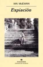 Portada de la novela Expiación, de Ian McEwan