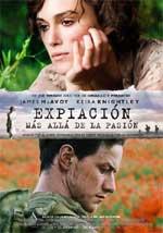 Cartel de la película Expiación, más allá de la pasión